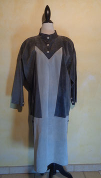 Robe peau 80's T.42