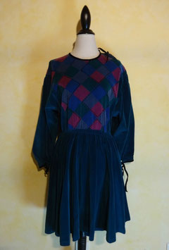 Robe velours Chacok 70's T.40