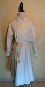 Trench blanc 70's T.40