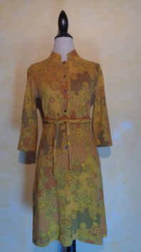 Robe moutarde 70's T.38