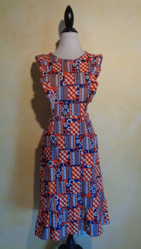 Robe tablier 60's T.36