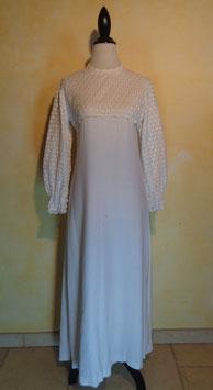Robe de mariée 60's T.38