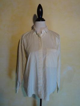 Chemise coton rayée 90's T.40