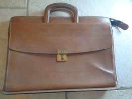 Cartable cuir 80's
