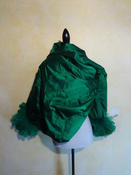 Etole verte à plumes