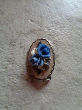 Petite broche fleur 50's