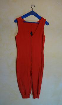 Combinaison rouge 70's T.36