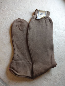 Chaussettes marrons 50's P.35-37