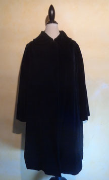 Manteau velours 50's T.38