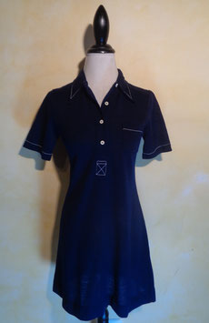 Robe polo jersey 60's T.38