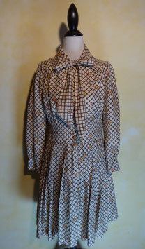 Robe carreaux 70's T.36