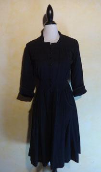 Robe noire 50's T.36