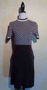 Robe jersey 70's T.36