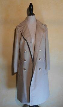 Manteau blanc 70's T.40