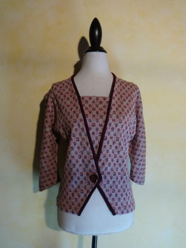 Pull croise 60's T.38