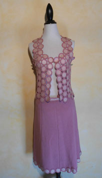 Ensemble crochet 60's T.36-38