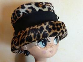 Chapeau léopard 50's