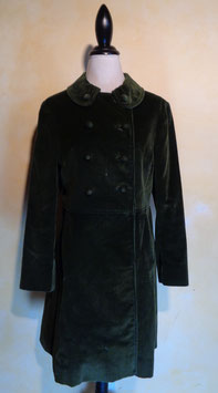 Manteau velours 60's T.36