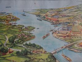 """Affiche pédagogique MDI """"l'estuaire/l'affluent et le confluent"""""""
