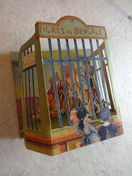 Construction enfantines du Bon Marché : Tigres