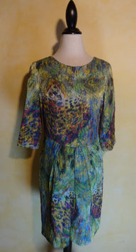 Robe multicolore 90's T.36