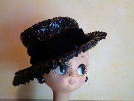 Chapeau noir 60's