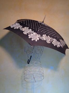 Parapluie fleurs 70's