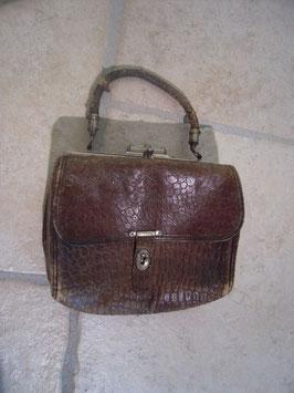 Petit sac cuir 1900