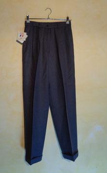 Pantalon laine gris 90's T.38