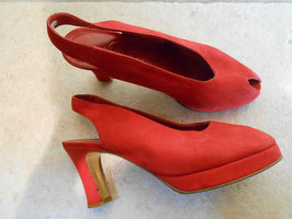 Peep toes rouges P.35