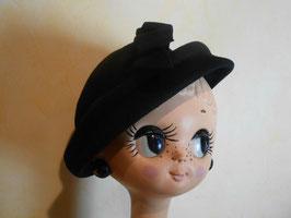 Chapeau noir 50's