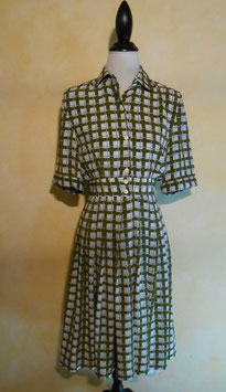 Robe carreaux 50's T.36