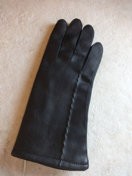Gants noirs 70's