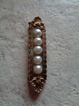 Broche à perles 50's