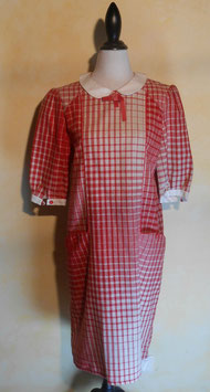 Robe carreaux 60's T.40