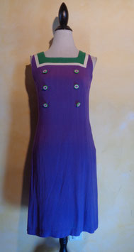 Robe preppy violette 60's T.36