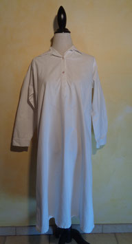 Chemise de nuit blanche 1900 T.38