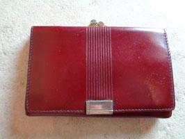 Porte monnaie rouge 60's