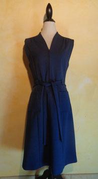 Robe bleue 70's T.40