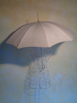 Parapluie carreaux 60's