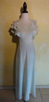 Robe soie 30's T.36