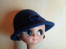Chapeau bleu 60's