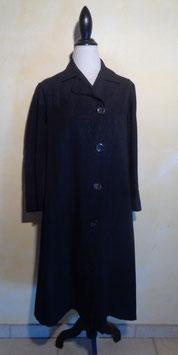 Manteau noir 70's T.38-40