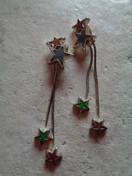 Boucles d'oreille étoiles