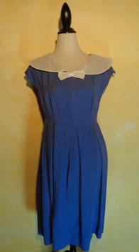 Robe bleue 50's T.40