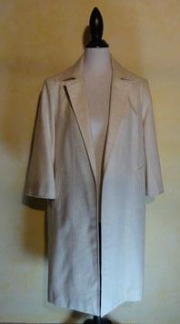 Manteau blanc 50's T.40