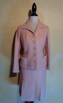 Ensemble rose 60's T.36