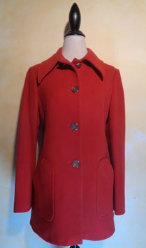 Manteau rouge 70's T.38