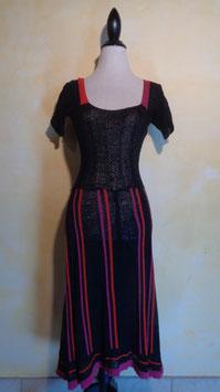 Robe crochet 70's T.36