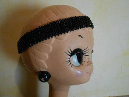 Headband perlé 30's